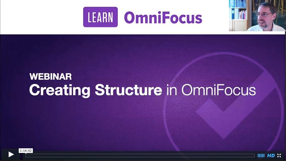 Learn OmniFocus Webinar Recordings
