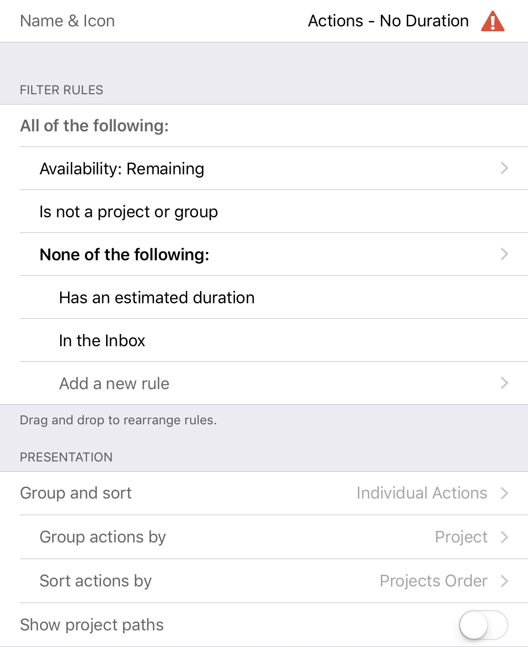 Custom Perspectives for OmniFocus 3 - Learn OmniFocus