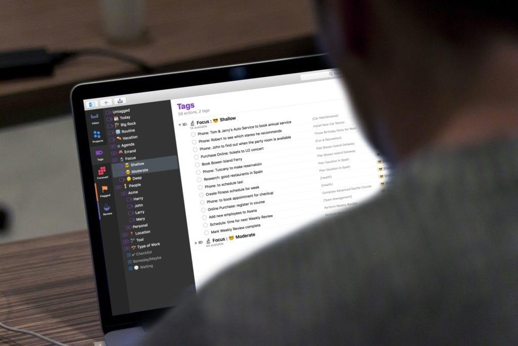 Tapping Into the Power of OmniFocus 3 for Mac
