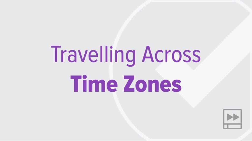 Travelling Across Time Zones with OmniFocus 3